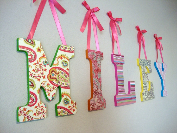 Name Wall Art 121 best name wall art images on pinterest | diy, crafts and home