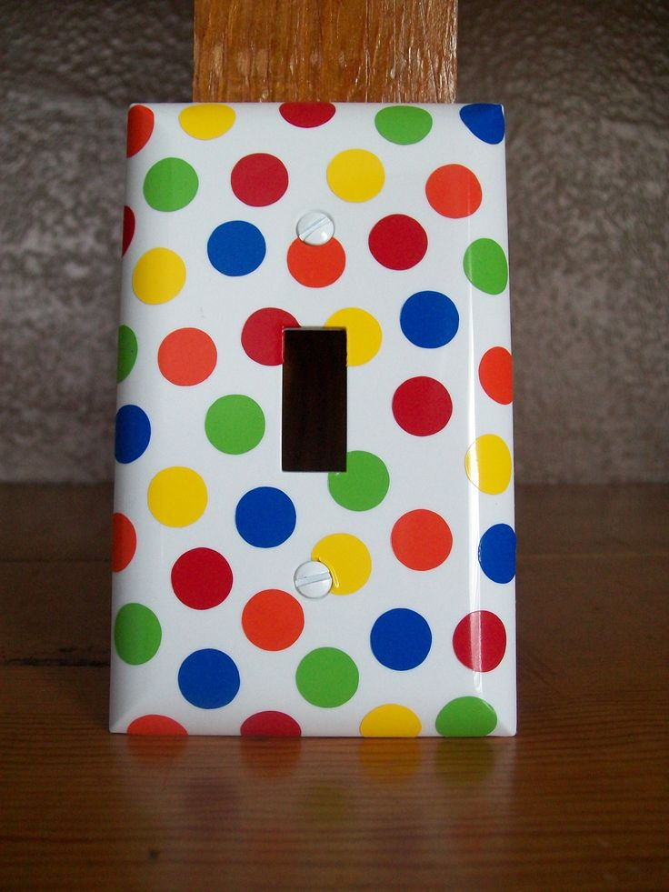 Polka Dot a lightswitch cover 167