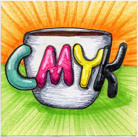 FFFFOUND! | I drew you a CMYK mug of coffee | Flickr - Photo Sharing!Cmyk, Coffe Talk, Artsy Stuff, Graphics Design, Art Direction, Maxim Art, Remarkable Design, Photos Shared, The Roller Coasters