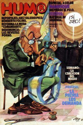 Sonrisas Argentinas: 30 años de Democracia y aquella tapa de Humor Registrado
