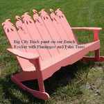 Bench Rocker by Tropical Adirondack Chairs