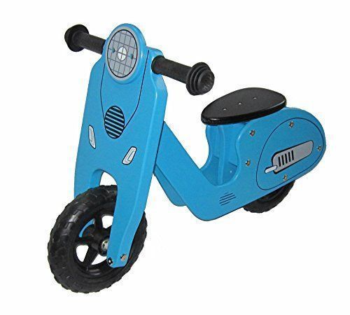 KIMO Wooden Balance Running Bike   Birch Wood Bike Without Pedals   Perfect Training Bike For Toddlers & Kids (Blue, JM C035). #KIMO #Wooden #Balance #Running #Bike #Birch #Wood #Without #Pedals #Perfect #Training #Toddlers #Kids #(Blue, #runningtraining