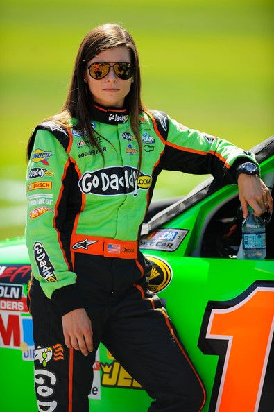 Danica Patrick-First female NASCAR driver to win a NASCAR Sprint Cup Series pole