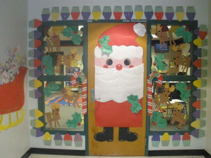 School Christmas Door Contest Winners The Lees My Classroom Door Decorations  Are A Winner With Office Door Decorating Ideas
