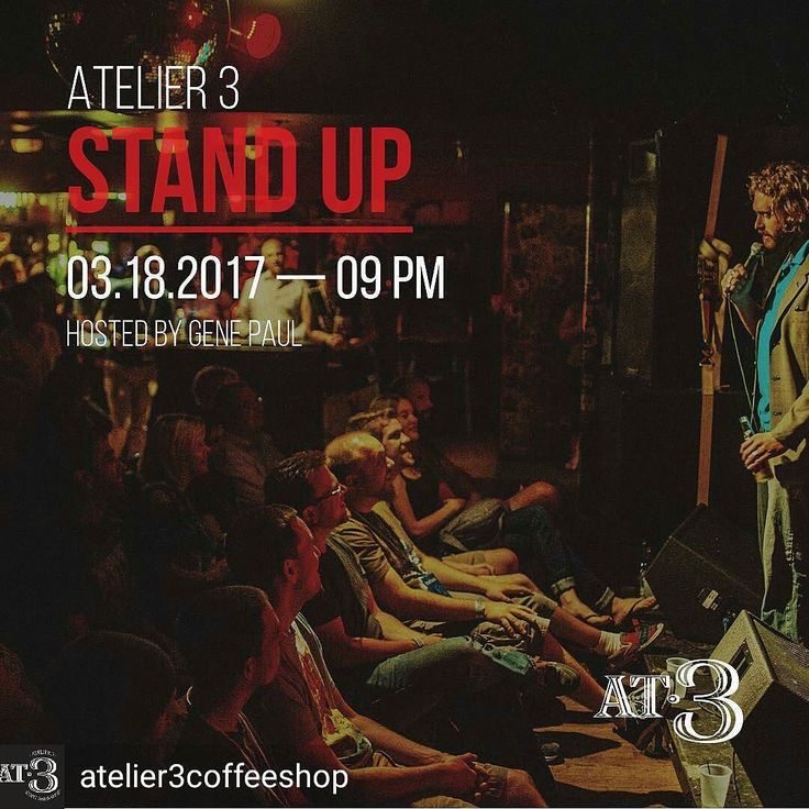 Credit to @atelier3coffeeshop : Stand Up Comedy tonight during the Hollywood Art Walk @9PM  No cover Just Fun  #hollywoodtapfl #hollywoodfl #hollywoodflorida #hollywoodbeach #downtownhollywood #miami #fortlauderdale #ftlauderdale #aventura #dania #daniabeach #hallandale #hallandalebeach #davie #pembrokepines #miramar @hollywoodtapfl
