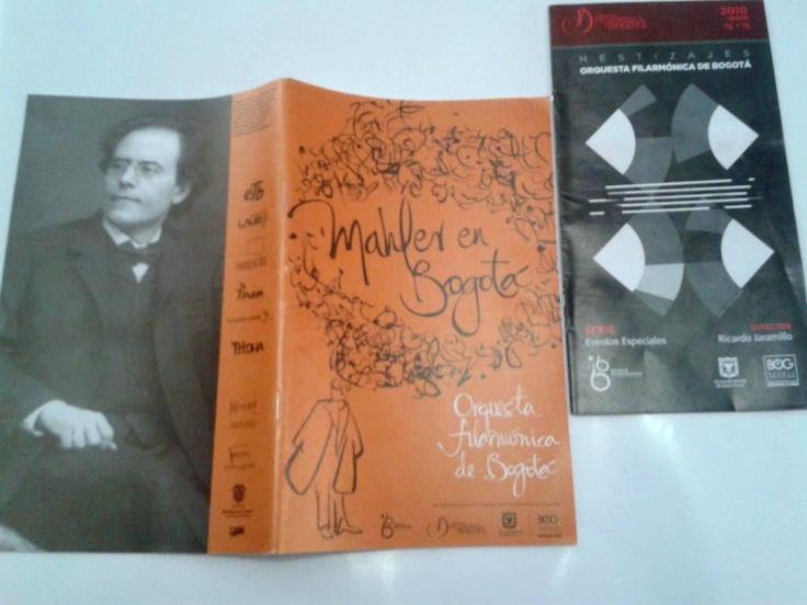 """"""" @jorgedebogota 3 #MejoresMomentosOFB #45AñosOFB Lanzamiento de """"Mestizajes"""", 8va Sinfónica de Mahler y el premioGrammy."""""""