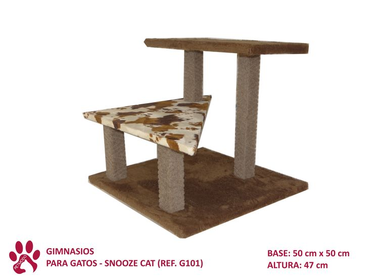Exclusivos diseños de gimnasios para gatos.