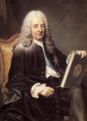 Portrait of Philibert Orry - Maurice Quentin de La Tour