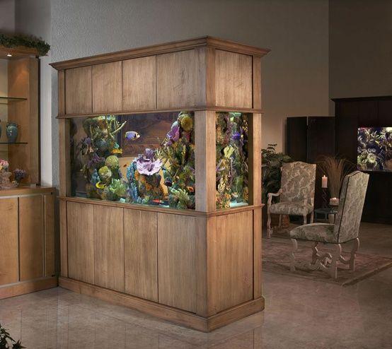 25 best ideas about aquarium cabinet on pinterest fish for Aquarium interior decoration