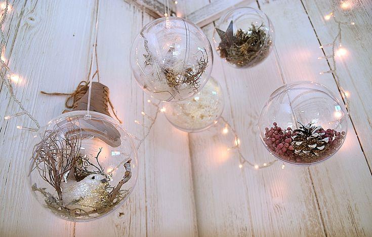 weihnachtliche dekokugeln von depot 11k christmas. Black Bedroom Furniture Sets. Home Design Ideas
