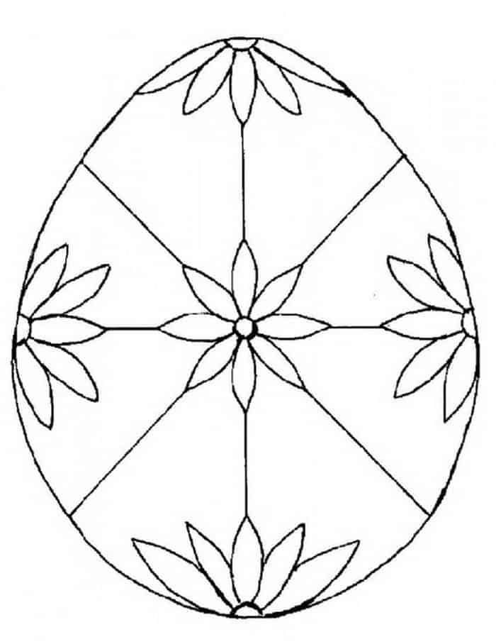 Easter Egg Coloring Pages Hard | 908x700