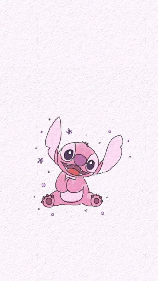 Me Encanta Stich Stitching Stitching Fond Ecran Cute Disney Wallpaper Cute Wallpapers Cute Cartoon Wallpapers