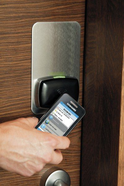 Use your phone as a key ... ASSA ABLOY Seos is the world's first commercial ecosystem for issuing, delivering and revoking digital keys on mobile phones