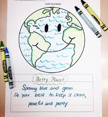earth day haiku free third grade think tank pinterest earth day planets and earth. Black Bedroom Furniture Sets. Home Design Ideas