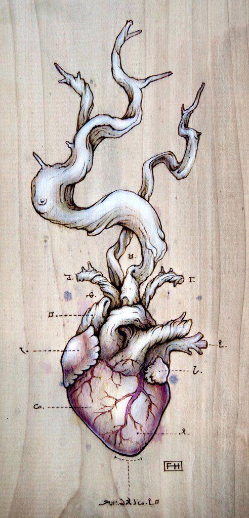 Driftwood Heart 01, Fay Helfer