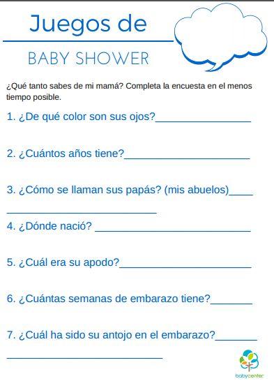 juegos para baby shower plantillas para imprimir baby shower expectant