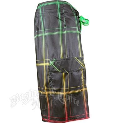 Rasta So Cal Lifted Boardshorts - Men's
