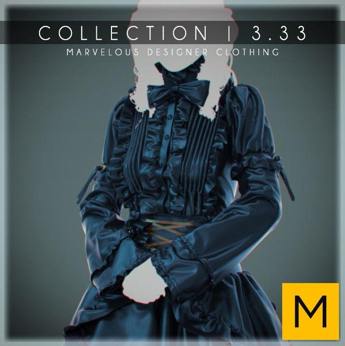 Marvelous Designer Clothing | 3.33, Luke Darby on ArtStation at https://www.artstation.com/artwork/65V3W