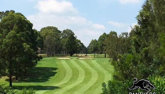 Enjoy 18 holes of golf with a mate at the beautiful Wallacia Panthers Golf & Country Club. This offer includes a shared motoised cart along with a drink each after your rounds! Normally $122, today $49 - Save 60%! #golf #golfsyd