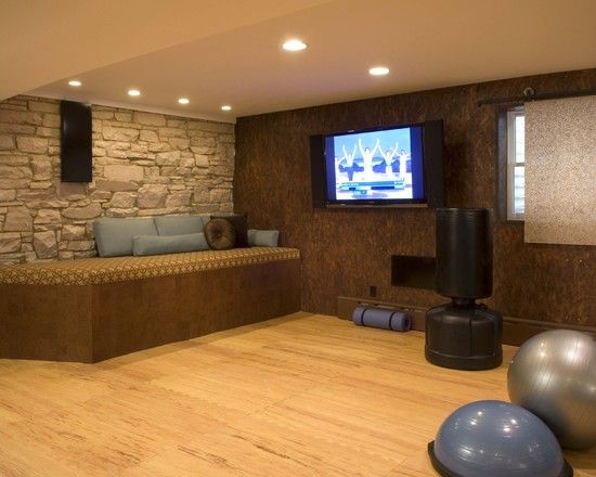 Home Gym Exercise Room Design, Pictures, Remodel, Decor And Ideas Part 97