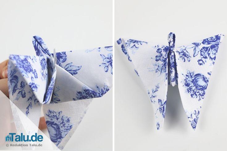 die besten 25 servietten falten stern ideen auf pinterest. Black Bedroom Furniture Sets. Home Design Ideas