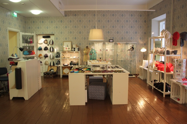 Our new shop at Kiseleff house 2nd floor, Aleksanterinkatu 28, Helsinki.
