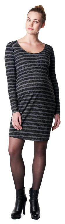 Vestido de embarazo escote redondo Demi [50623] - 69,95€ : Tienda premamá online. Moda prenatal para embarazadas y ropa interior para embarazo y lactancia., Demamis.com
