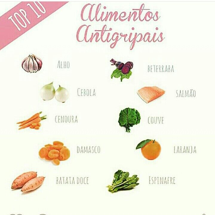 Alimentos antigripais