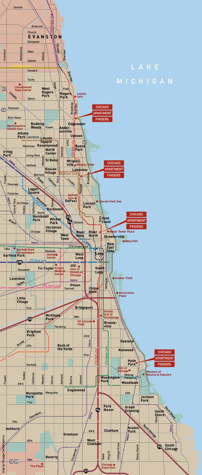 Best CHICAGO CHICAGO Images On Pinterest - Chicago map miracle mile