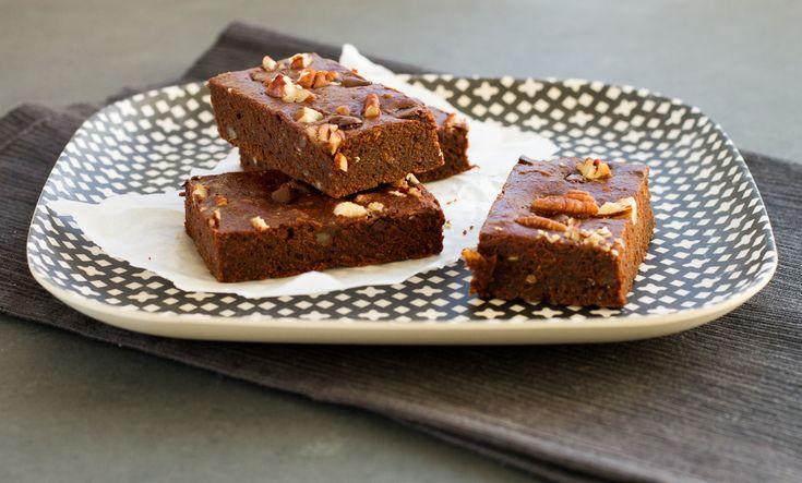 Brownies au sirop d'érable et pacanes santé   Nautilus Plus
