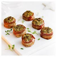 Onion and thyme stuffing wraps