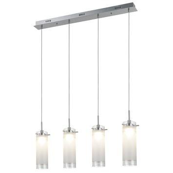 Hanglamp Saar wit 4-lichts in de beste prijs-/kwaliteitsverhouding, volop keuze bij GAMMA