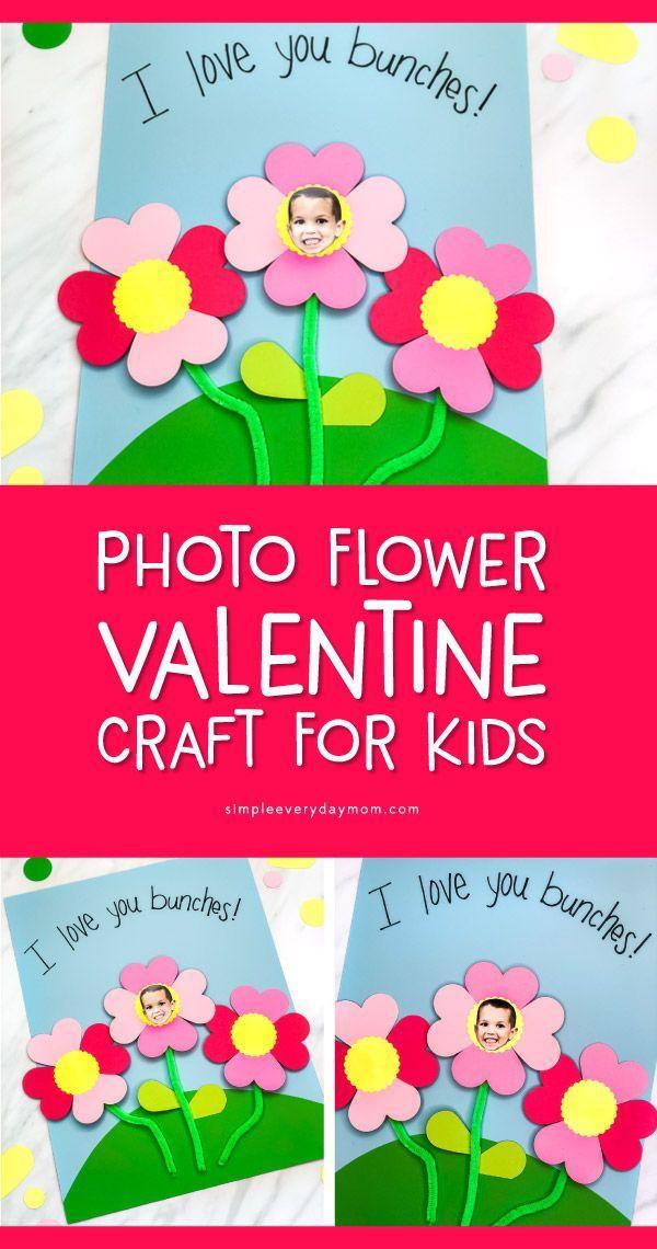 Flower Photo Preschool Craft Preschool Activities Pinterest