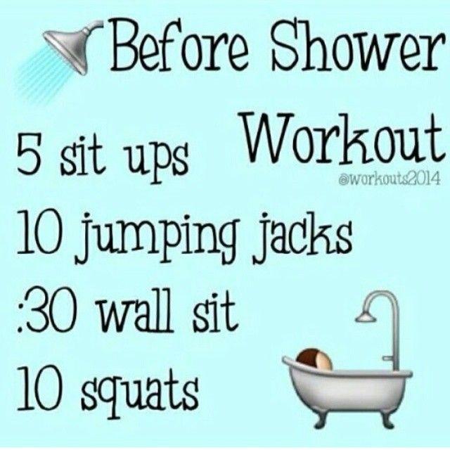 Pre shower teen