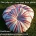Moda Bake Shop: Jelly Roll Floor Pillows DIY tutorial...could also applique the top to a plain white quilt!