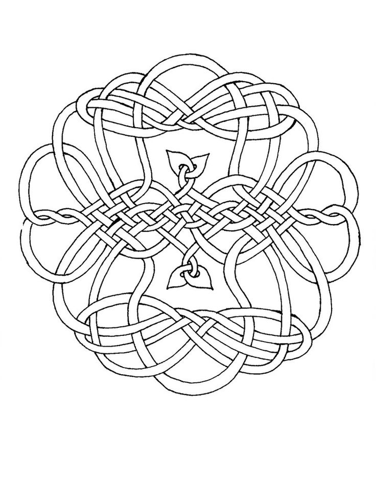 This is one of my many Celtic Knots which I have formatted to be a coloring page. My kids really like coloring these in and so I decided to post them, so that other people may print them out for th...