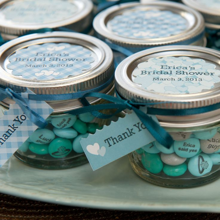 Sweetness in a jar for your bridal shower favors! #MYMMS