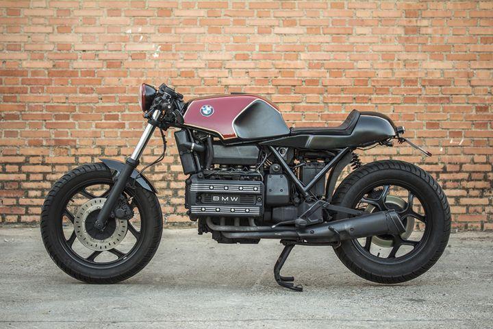 BMW K100 Cafe Racer - The Bike Special. Una moto transformada y homologada, lista para rodar sin parar. Entra y descubre toda la info y detalles.