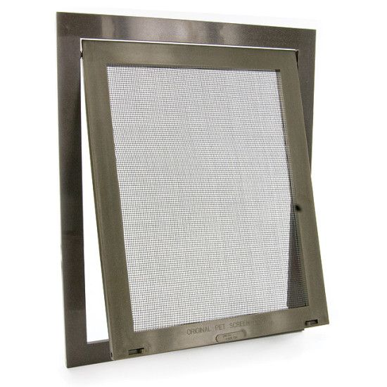 Your furry friend loves to come and go at will. This swinging wire mesh door snaps directly onto your existing screen door or window for quick and easy installation. The high-impact plastic frame includes...