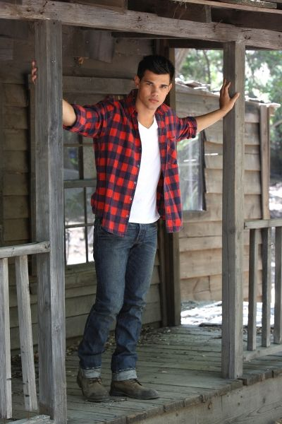 Taylor Lautner. My goodness...I am going to marry him.