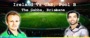 Watch Live Ireland vs UAE Cricket Match