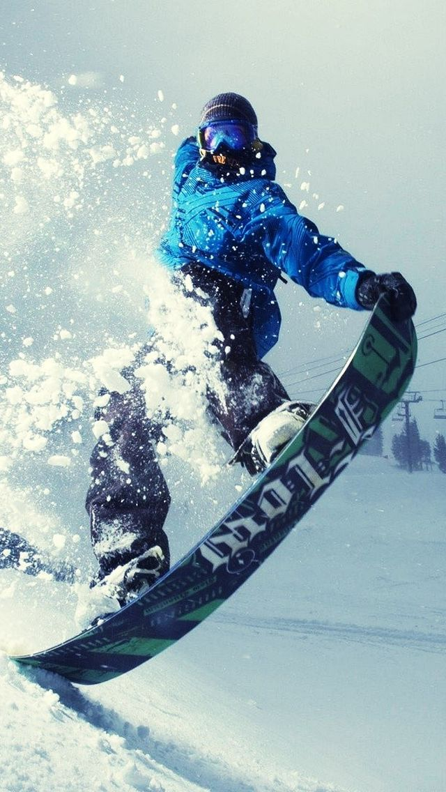 Hacer snowboard LISTO