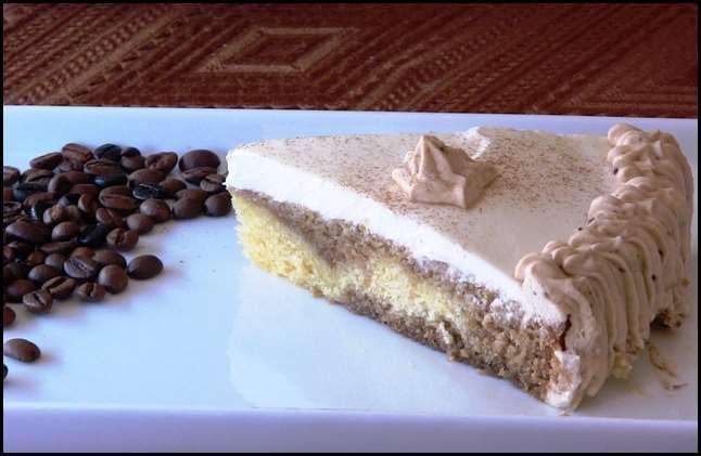 Tarta de cafe irlandes 001 Tarta de café irlandés