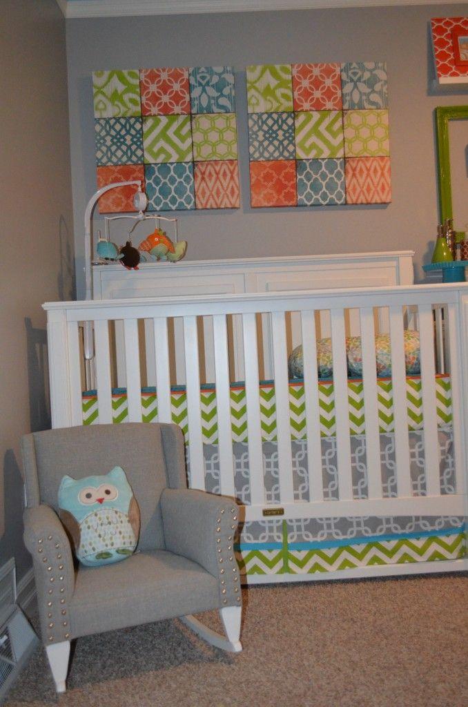 Nursery...love the colors
