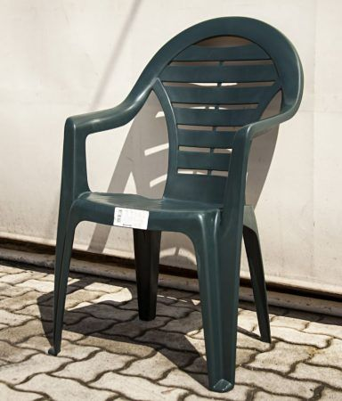 'Corolla' karfás, magas támlás kerti szék