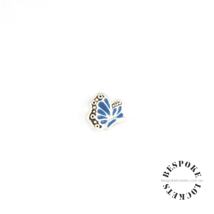Blue Butterfly - Floating Charm