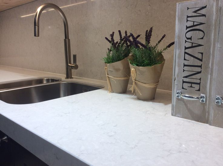Silestone Snowy Ibiza Kitchen Suite Genk Cosentino