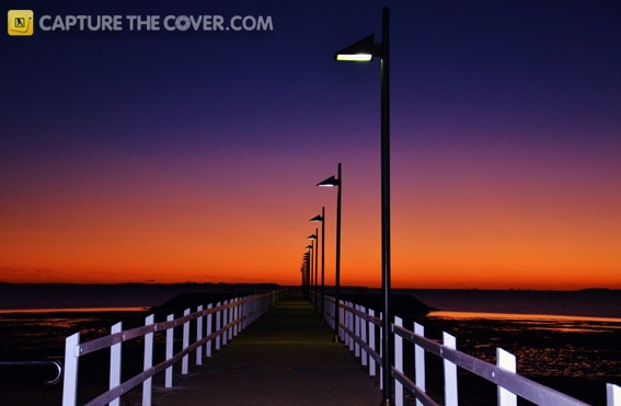 Wynnum Esplanade - #CaptureTheCover entry by Robyn Michelle in Brisbane's Redland Bayside Region