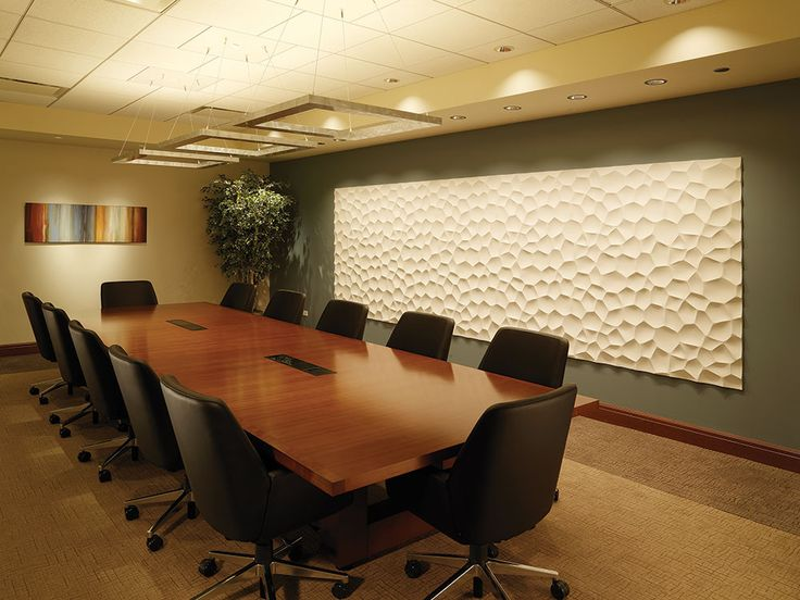 This conference room is equipped with juno lighting group tunable white luminaires providing the flexibility to