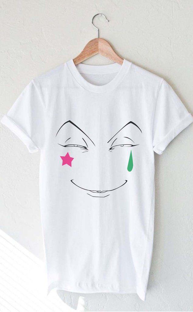 3cd89c40 Hisoka Face Hunter x Hunter T-shirt Men / Tee Men | Anime Merch +++ ...
